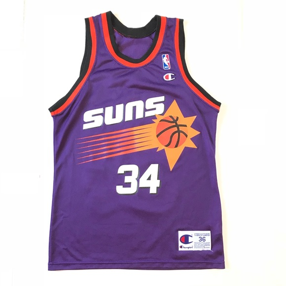 469ff7653 Champion Other - Vintage 90s Champion Charles Barkley Suns Jersey